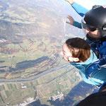 Fallschirmspringen Österreich Geschenk Idee