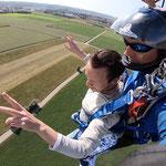 Fallschirmspringen Tandem Landshut