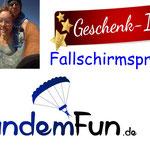 Fallschirmspringen Mittelfranken Rothenburg ob der Tauber, Ansbach, Nürnberg, Fürth