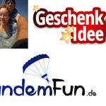 Fallschirm Sprung Regen Niederbayern