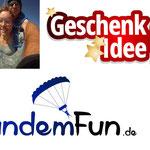 Fallschirm Sprung Rothenburg ob der Tauber Mittelfranken