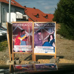 Großflächen-Werbung für HEXENJAGD !!!