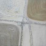 Summer Paddockscape Oil on Canvas 150 x 150 cm