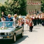 1996: Kreismusikfest-Festzug in Pretzfeld