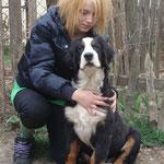 Катя и Поньчик - друзья !
