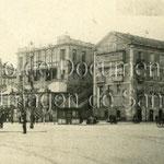 1912-1915 Avenida de Alfonso XIII desde el comienzo del Paseo Pereda. En el centro, el remodelado Salón Pradera
