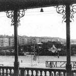 1920 Vistas hacia el este desde la terraza del Salón Pradera