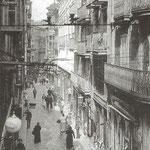 c. 1914 Calle San Francisco desde la Plaza Vieja