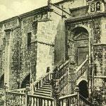 """¿Año? Acceso a la Catedral desde la Calle del Puente por la """"Escalera de los Mártires"""""""