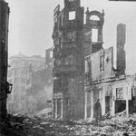 1941 Ruinas de la Calle Lealtad desde la Plaza de los Remedios