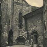 c. 1935 Comienzo de Ruamayor junto a la Catedral. Desde el oeste