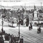 1911 Plaza Velarde desde el puente
