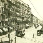 1889 La Ribera desde el puente