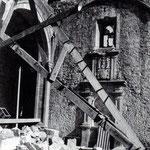 Años 40. Capilla de Nicolás Javier de Olivares tras el incendio