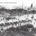 1920 Vistas hacia el sureste desde el Salón Pradera