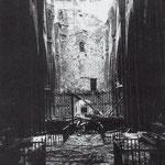1941 Nave central de la Catedral tras el incendio