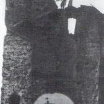 1944 Desmonte de la torre del homenaje del antiguo Castillo de San Felipe (derribado en 1896), que había permanecido hasta entonces adosada a la Catedral sirviendo de antesacristía