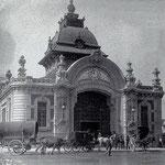 ¿Año? Estación de la Costa, donde llegaban los trenes de Bilbao hasta su derribo en 1936