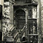 """1935 Acceso a la Catedral desde la Calle del Puente por la """"Escalera de los Mártires"""""""