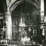 1920-1930 Interior de la iglesia de San Francisco