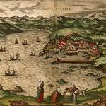 1575 Vista general de Santander desde el este (zona de San Martín)
