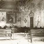1903 Salón de plenos del antiguo Ayuntamiento, inaugurado en 1854 (el salón)