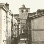 1912 Calle del Puente desde el norte. Al fondo, la Catedral