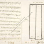 1759 Descripción de unas bodegas entre las calles de San Francisco y Atarazanas