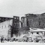 1941 Conjunto de la Catedral desde el sureste. A la izquierda, Calle Cádiz; a la derecha, Calle del Obispo Plaza