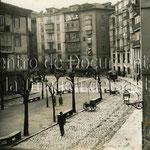 1890 Plaza del Príncipe desde su esquina noreste
