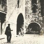 1924 Comienzo de Ruamayor junto a la Catedral. Desde el oeste