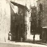 1920 Acceso a la plaza de los Remedios desde la calle del Cubo