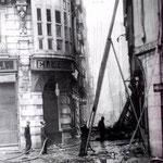 1941 Comienzo de San Francisco desde Isabel II durante el incendio