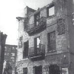 """1941 Ruinas de la """"Casa del Marqués de la Conquista"""""""