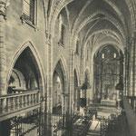 1930 Nave central de la Catedral. Toda la decoración interior desapareció en 1941
