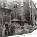 1890 Convento de Santa Clara, en cuyo solar se construyó el Instituto Santa Clara en 1916