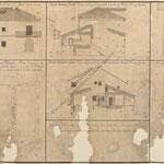 """1807 """"...Casa de Ciudad, Sitio litigioso, Casa de Don Francisco Ramon de la Puebla y sus Calles confinantes en la Ciudad de Santander"""""""