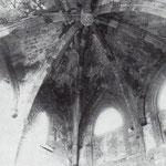 Años 40. Bóveda de la desaparecida Capilla de Santiago