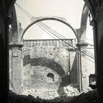 1936 La iglesia de San Francisco con las bóvedas ya derribadas