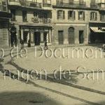 1920 Plaza del Príncipe desde su centro hacia el norte