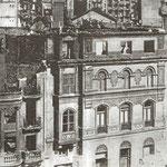 1941 Restos del Ateneo, en la esquina del Arcillero con San José