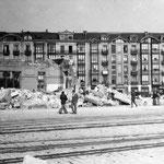 1936 Derribo de la Estación de la Costa desde el sur