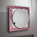 ART. 1144  DECORO ROSA - DIAMETRI -50*50 / 40*40 / 30*30