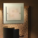 ART. 1071  DECORO LEO BIANCO - DIAMETRI -45*45 / 59*59
