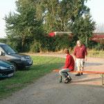 Die freundlichen Herren von der Parkplatz-Security ;-)