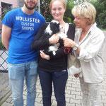 Familie Willems-Krämer mit Aina