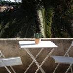 Chambre Lilas - Sa terrasse
