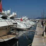 Les bateaux de St Tropez
