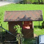 Gartenhaus mit Grillmöglichkeit