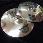 """Sabian AAX Studio Hi Hat 14"""""""